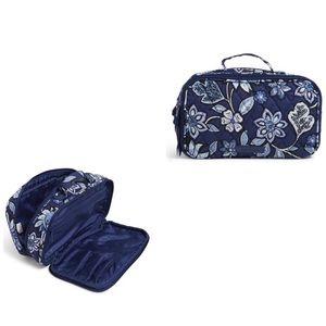 Vera Bradley Tapestry Blush & Brush Cosmetic Bag